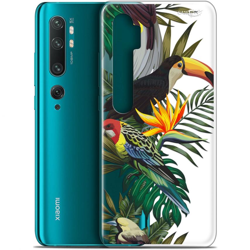 "Carcasa Gel Extra Fina Xiaomi Mi Note 10 / Pro (6.47"") Design Toucan Tropical"