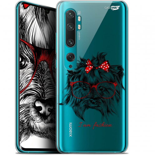 "Carcasa Gel Extra Fina Xiaomi Mi Note 10 / Pro (6.47"") Design Fashion Dog"