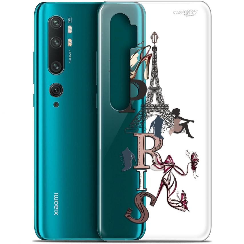 "Carcasa Gel Extra Fina Xiaomi Mi Note 10 / Pro (6.47"") Design Stylish Paris"