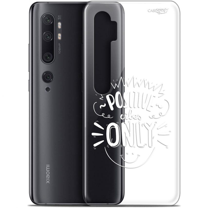 "Carcasa Gel Extra Fina Xiaomi Mi Note 10 / Pro (6.47"") Design Positive Vibes Only"