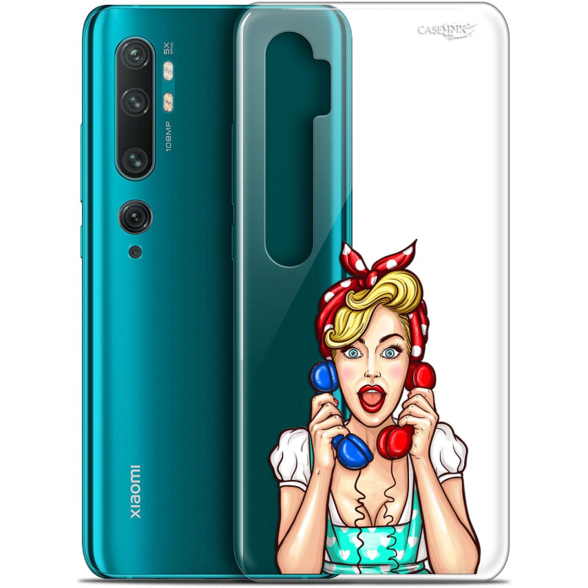 "Carcasa Gel Extra Fina Xiaomi Mi Note 10 / Pro (6.47"") Design Calling Girl"