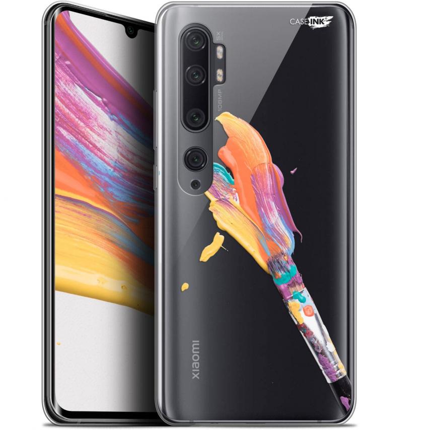 "Carcasa Gel Extra Fina Xiaomi Mi Note 10 / Pro (6.47"") Design Pinceau de Peinture"