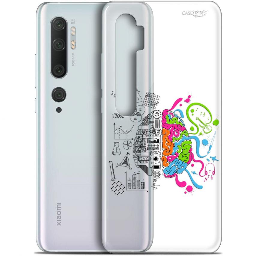 """Carcasa Gel Extra Fina Xiaomi Mi Note 10 / Pro (6.47"""") Design Le Cerveau"""
