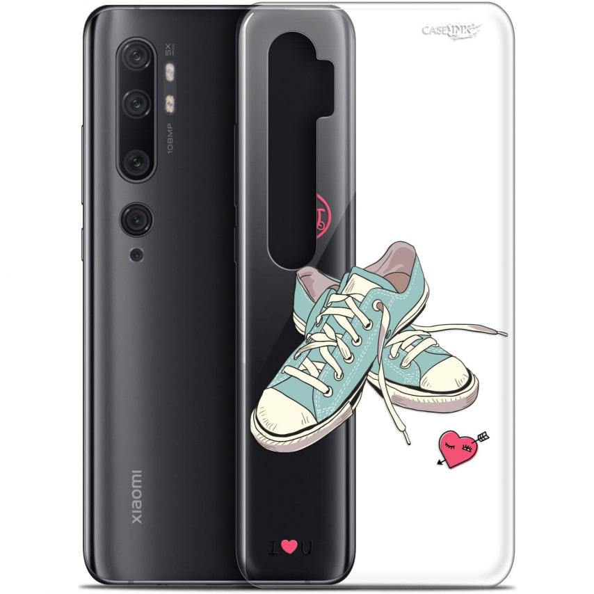 "Carcasa Gel Extra Fina Xiaomi Mi Note 10 / Pro (6.47"") Design Mes Sneakers d'Amour"