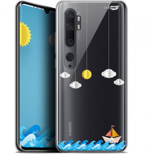 "Carcasa Gel Extra Fina Xiaomi Mi Note 10 / Pro (6.47"") Design Petit Bateau en Mer"