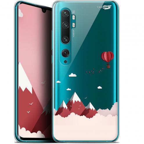 "Carcasa Gel Extra Fina Xiaomi Mi Note 10 / Pro (6.47"") Design Montagne En Montgolfière"