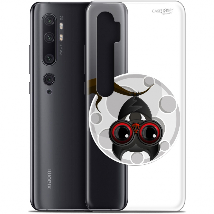 "Carcasa Gel Extra Fina Xiaomi Mi Note 10 / Pro (6.47"") Design Petit Vampire"
