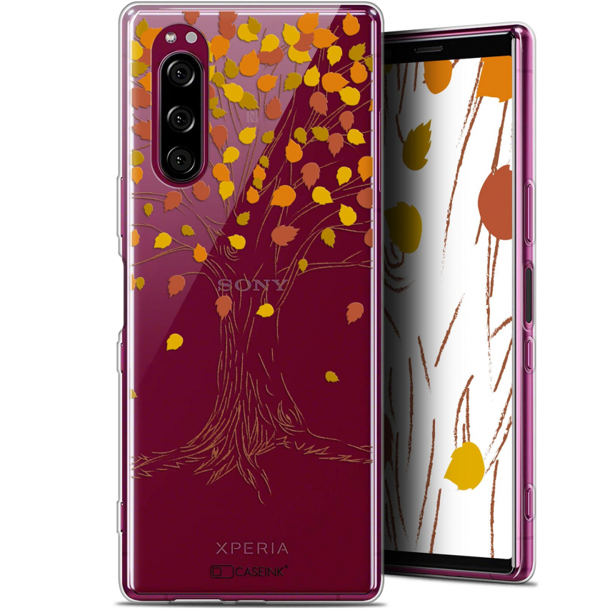 "Carcasa Gel Extra Fina Sony Xperia 5 (6.1"") Autumn 16 Tree"