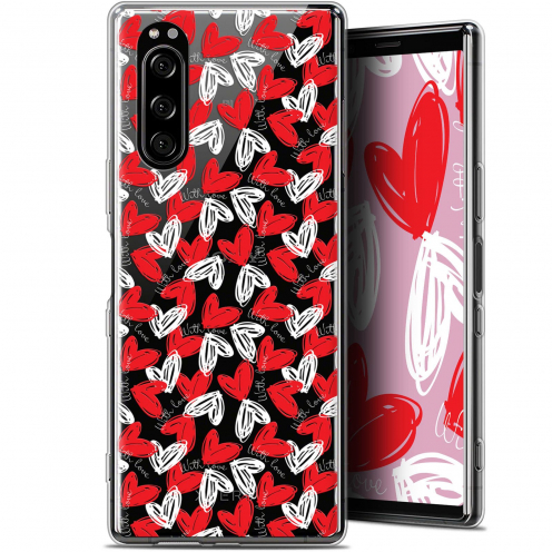 "Carcasa Gel Extra Fina Sony Xperia 5 (6.1"") Love With Love"