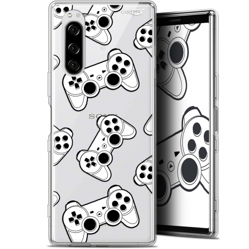 "Carcasa Gel Extra Fina Sony Xperia 5 (6.1"") Design Game Play Joysticks"