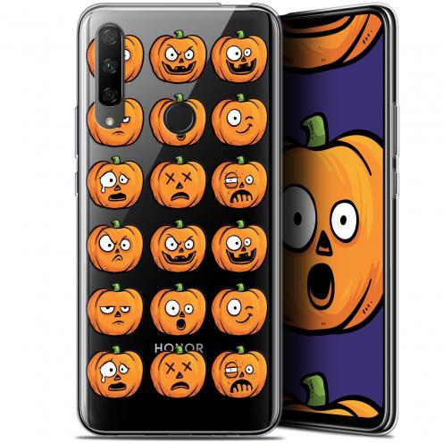 "Carcasa Gel Extra Fina Huawei Honor 9X (6.59"") Halloween Cartoon Citrouille"