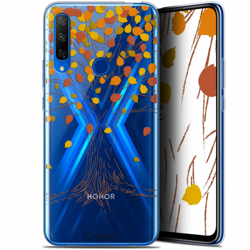 "Carcasa Gel Extra Fina Huawei Honor 9X (6.59"") Autumn 16 Tree"