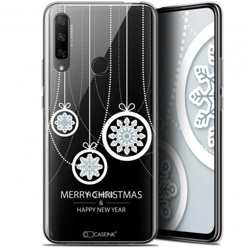"Carcasa Gel Extra Fina Huawei Honor 9X (6.59"") Noël 2017 Christmas Balls"