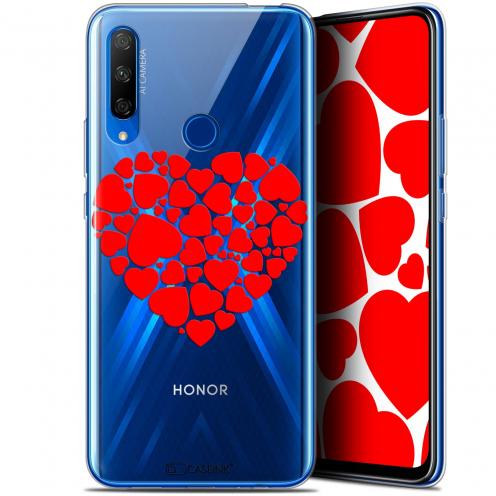 "Carcasa Gel Extra Fina Huawei Honor 9X (6.59"") Love Coeur des Coeurs"