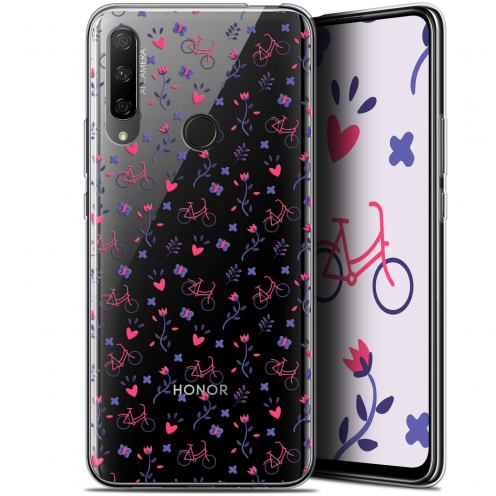 "Carcasa Gel Extra Fina Huawei Honor 9X (6.59"") Love Bicycle"