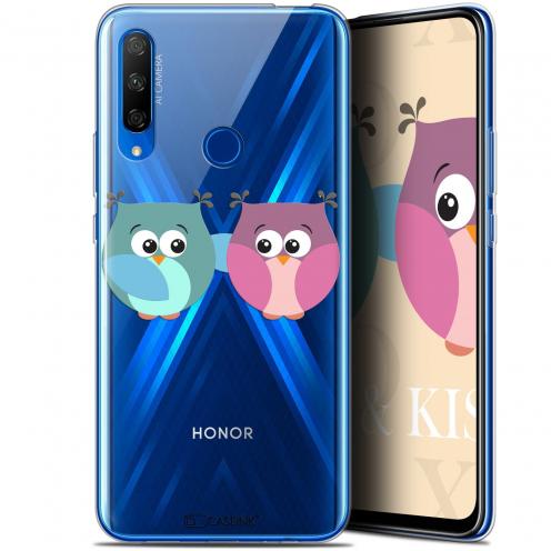 "Carcasa Gel Extra Fina Huawei Honor 9X (6.59"") Love Hibous à deux"