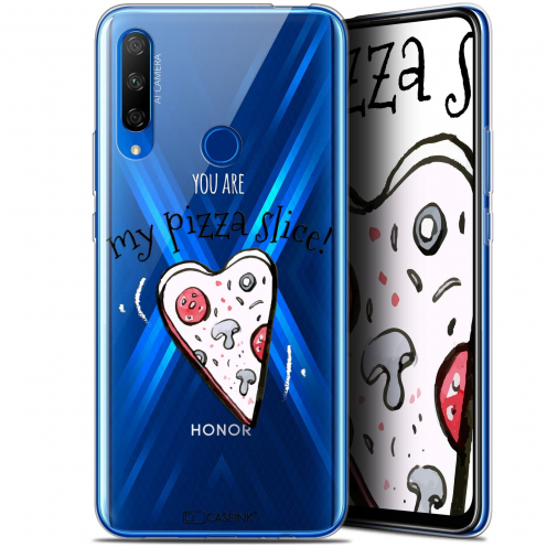 "Carcasa Gel Extra Fina Huawei Honor 9X (6.59"") Love My Pizza Slice"