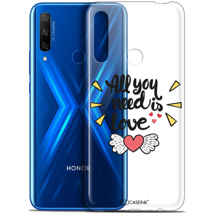"Carcasa Gel Extra Fina Huawei Honor 9X (6.59"") Love All U Need Is"