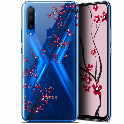"Carcasa Gel Extra Fina Huawei Honor 9X (6.59"") Summer Sakura"