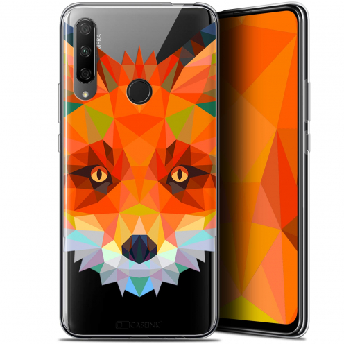 "Carcasa Gel Extra Fina Huawei Honor 9X (6.59"") Polygon Animals Zorro"