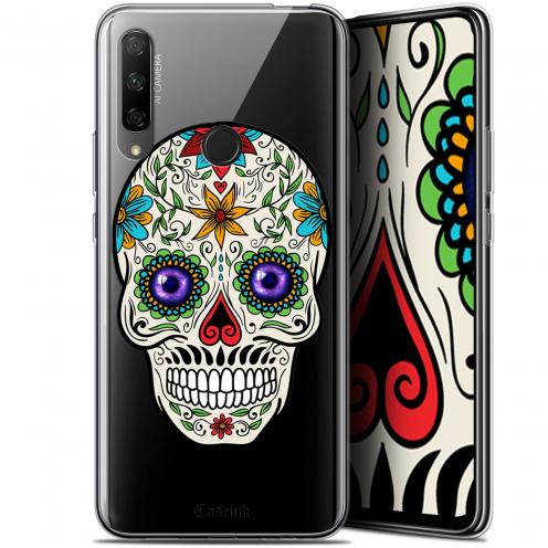 "Carcasa Gel Extra Fina Huawei Honor 9X (6.59"") Skull Maria's Flower"