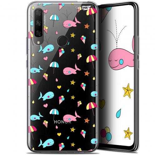 "Carcasa Gel Extra Fina Huawei Honor 9X (6.59"") Design Baleine à la Plage"
