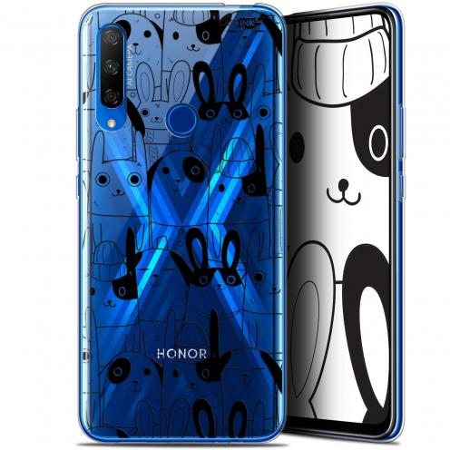"Carcasa Gel Extra Fina Huawei Honor 9X (6.59"") Design Lapin Noir"