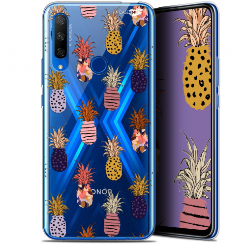 "Carcasa Gel Extra Fina Huawei Honor 9X (6.59"") Design Ananas Gold"