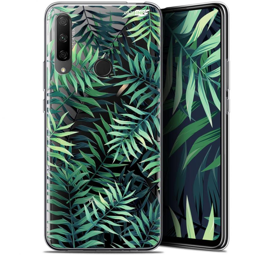 "Carcasa Gel Extra Fina Huawei Honor 9X (6.59"") Design Feuilles des Tropiques"