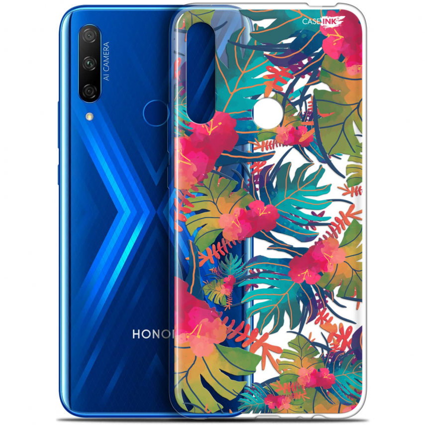 "Carcasa Gel Extra Fina Huawei Honor 9X (6.59"") Design Couleurs des Tropiques"