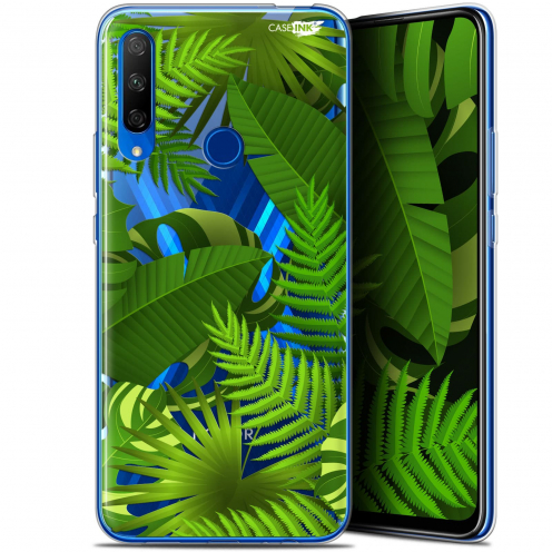 "Carcasa Gel Extra Fina Huawei Honor 9X (6.59"") Design Plantes des Tropiques"
