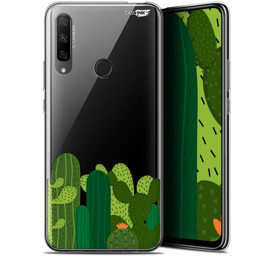 "Carcasa Gel Extra Fina Huawei Honor 9X (6.59"") Design Cactus"