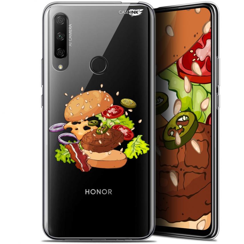 "Carcasa Gel Extra Fina Huawei Honor 9X (6.59"") Design Splash Burger"