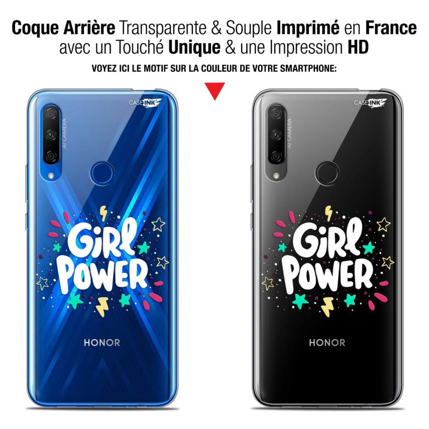 """Carcasa Gel Extra Fina Huawei Honor 9X (6.59"""") Design Girl Power"""