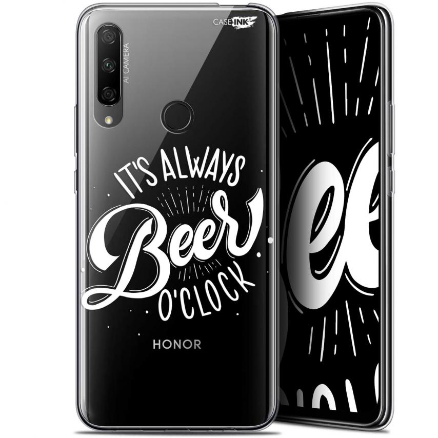 "Carcasa Gel Extra Fina Huawei Honor 9X (6.59"") Design Its Beer O'Clock"