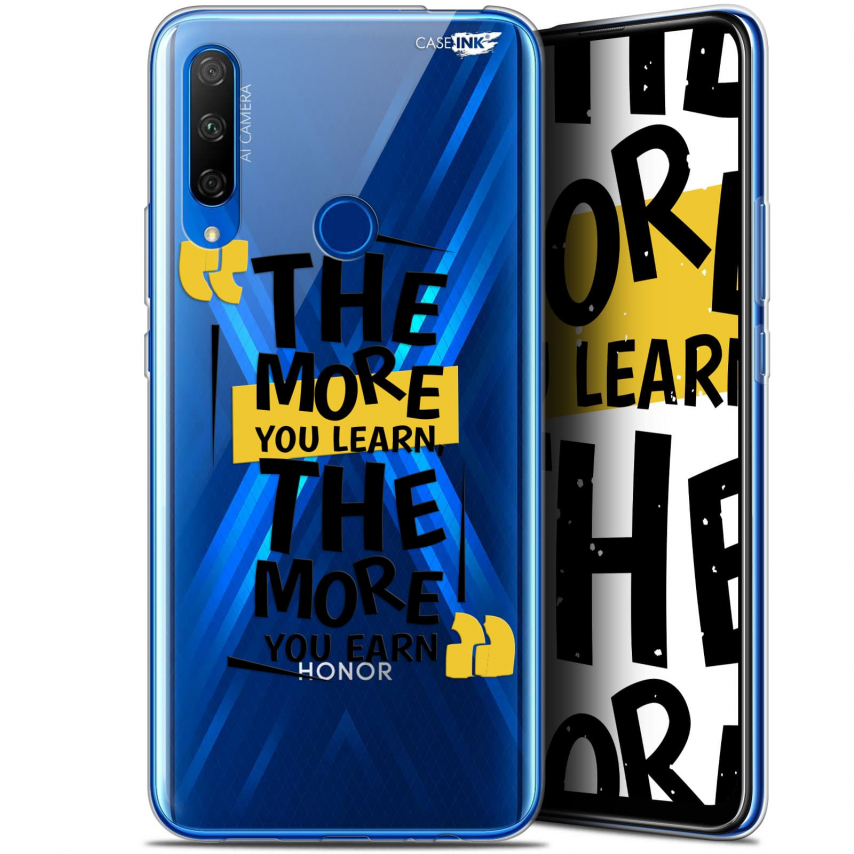 "Carcasa Gel Extra Fina Huawei Honor 9X (6.59"") Design The More You Learn"