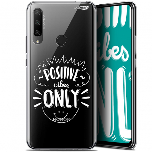"Carcasa Gel Extra Fina Huawei Honor 9X (6.59"") Design Positive Vibes Only"