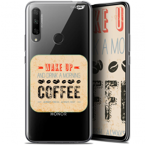 "Carcasa Gel Extra Fina Huawei Honor 9X (6.59"") Design Wake Up With Coffee"