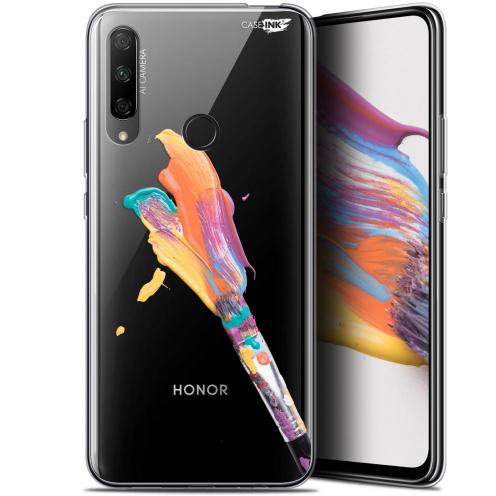 "Carcasa Gel Extra Fina Huawei Honor 9X (6.59"") Design Pinceau de Peinture"