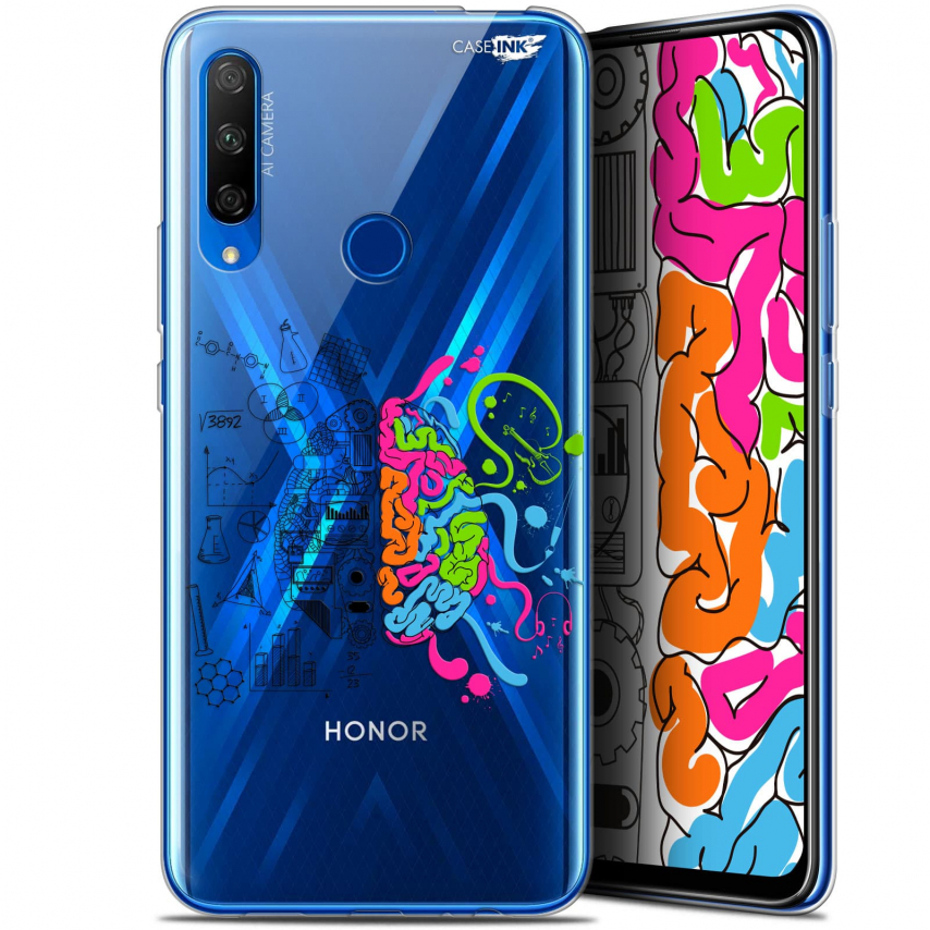 "Carcasa Gel Extra Fina Huawei Honor 9X (6.59"") Design Le Cerveau"