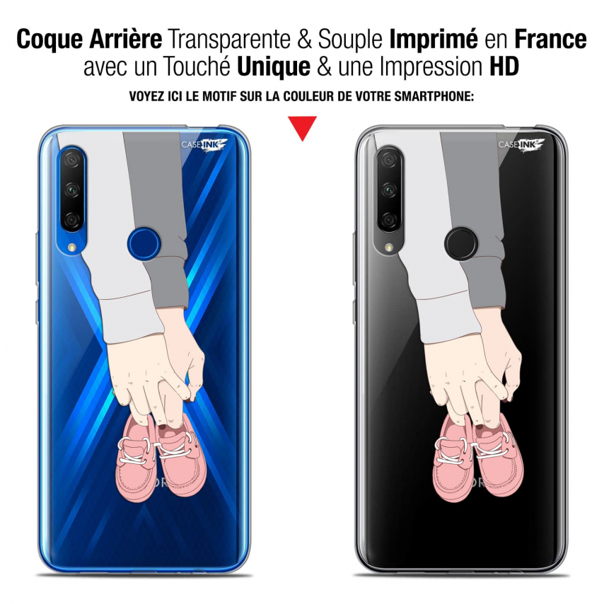 "Carcasa Gel Extra Fina Huawei Honor 9X (6.59"") Design A Deux Mon Bébé"