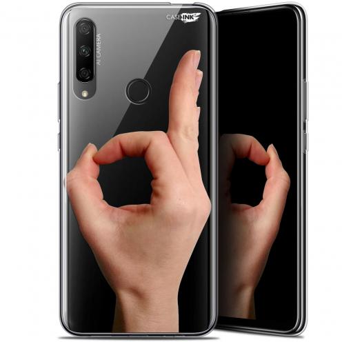 "Carcasa Gel Extra Fina Huawei Honor 9X (6.59"") Design Le Jeu du Rond"