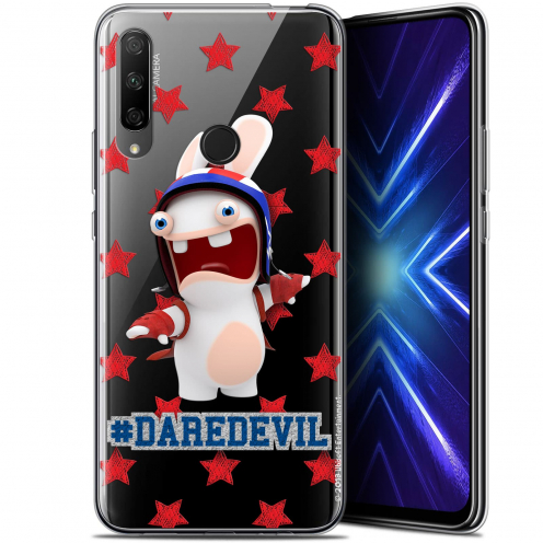 "Carcasa Gel Huawei Honor 9X (6.59"") Lapins Crétins™ Dare Devil"