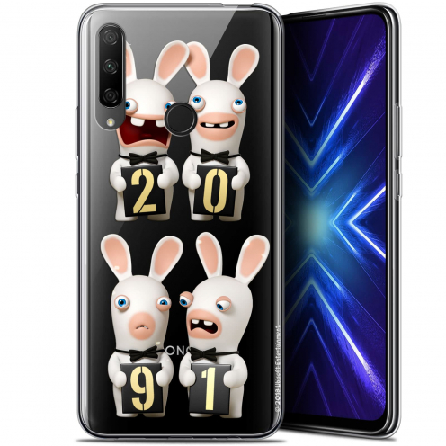 "Carcasa Gel Huawei Honor 9X (6.59"") Lapins Crétins™ New Year"