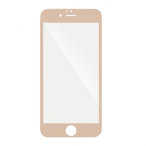 5D Full Glue Tempered Glass - for Iphone 6G/6S PLUS gold