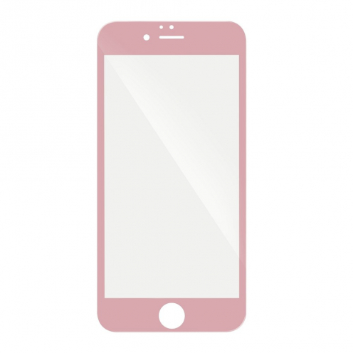 "5D Full Glue Tempered Glass - for Iphone 7 / 8 4,7"" rose"