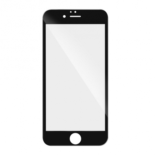 5D Full Glue Tempered Glass - for Samsung Galaxy S20 (hole) black