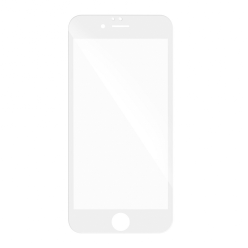 5D Full Glue Tempered Glass - for Huawei P10 white