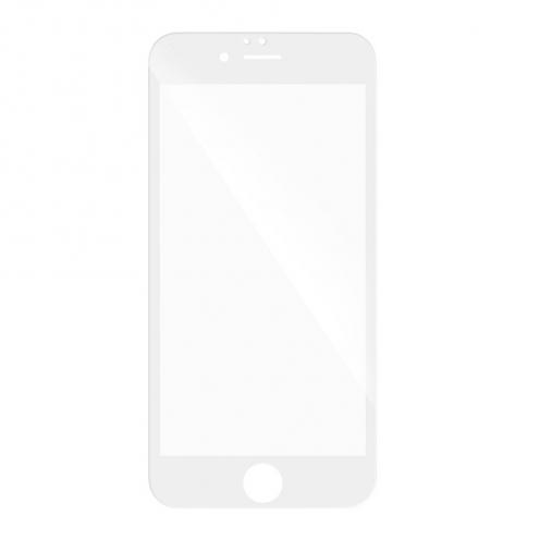5D Full Glue Tempered Glass - for Huawei P10 Lite white