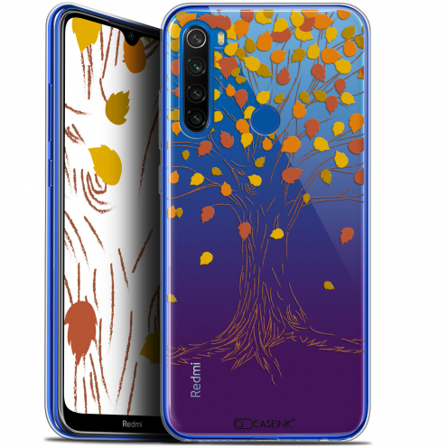 "Carcasa Gel Extra Fina Xiaomi Redmi Note 8T (6.3"") Autumn 16 Tree"